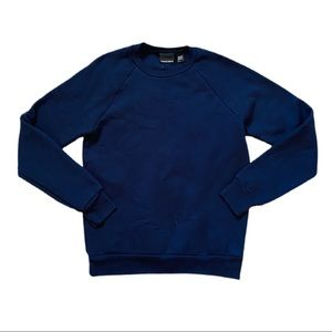 American apparel unisex long sleeve crewneck shirt
